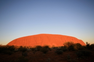 Uluru at its most spectacular best