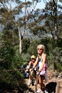Climbing Mt Warning