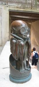 Alien in Gruyeres