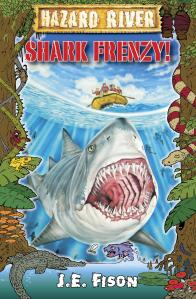 Hazard River - Shark Frenzy by J.E. Fison