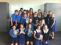 Julie Fison school visit