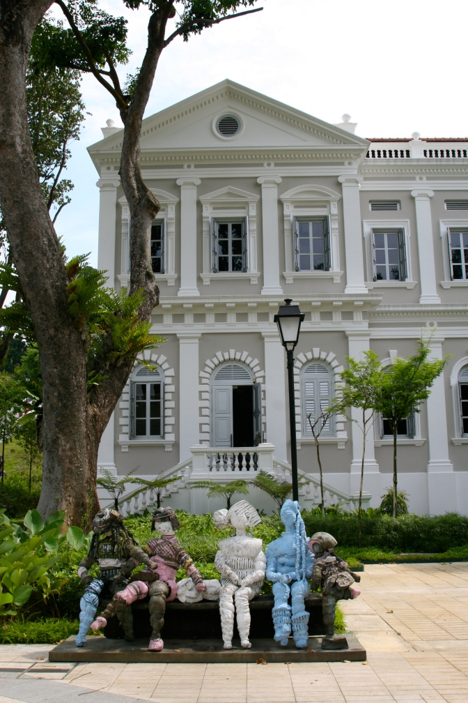 History in the park – Singapore