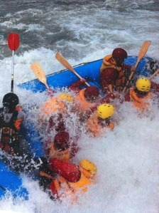 Rafting on the Shotover