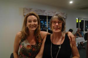 Julie Fison and Krista Bell
