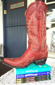 CREATIVITY STARTER: Come up with 20 uses for a   cowboy boot.