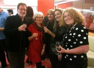 Catching up with Michael Bauer, Sheryl Gwyther, Pamela Rushby and Charmaine Clancy