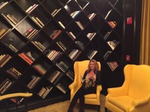 Viceroy Hotel library, Santa Monica