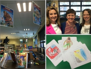 Celebrating Book Week with Uber Librarian Alison Findlay and Picture Book Queen Juliette Maclver