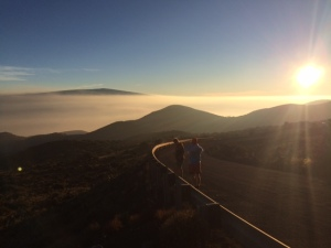 Sunset at Mauna Kea