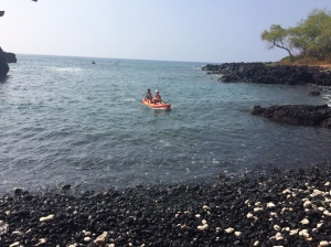 Kayaking at Kealakekua Bay