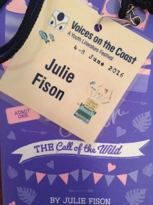 Julie Fison, Voices on the Coast 2016