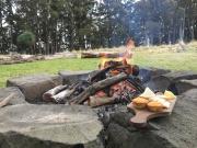 Fire-pit picnic Spicers Peak Lodge