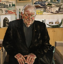 Alan Jones' 'Pat' - Archibald Prize finalist 2016, Art Gallery of NSW