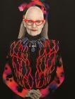 Carla Fletcher's 'Twin Souls, Linda Jackson' Archibald Prize finalist 2016 Art Gallery of NSW