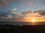 Sunset from Injidup Spa Retreat, WA