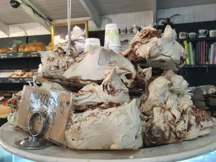 Chocolate meringues, Margaret River Bakery, WA