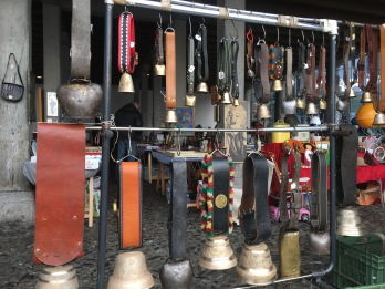 Cowbells in Vevey, Switzerland