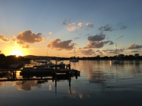 Daybreak on the Noosa River