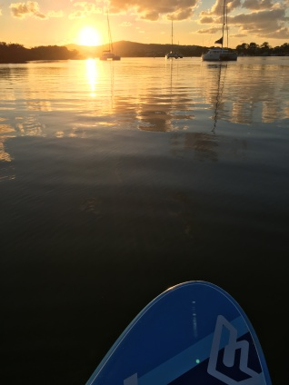 SUP time on the Noosa River