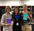 Julie Fison visiting Penrhos College, Perth