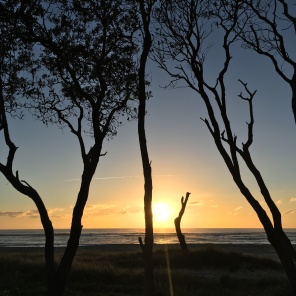 Sunrise on Noosa North Shore