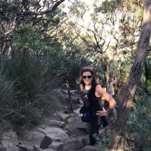 Climbing Mt Warning, NSW
