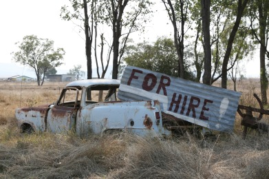 A sign outside Biloela