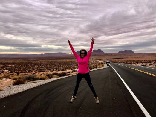 Julie Fison, Monument Valley, USA