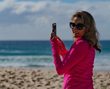 Julie Fison at Broadbeach, Gold Coast, Australia