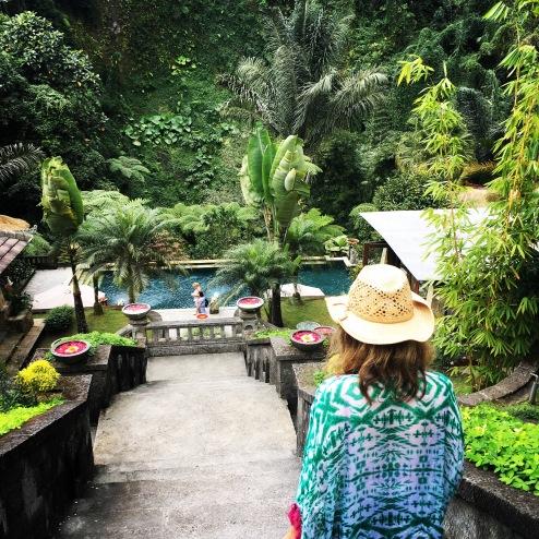 Julie Fison at Bagus Jati, Bali