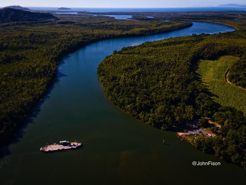 Daintree River car ferry